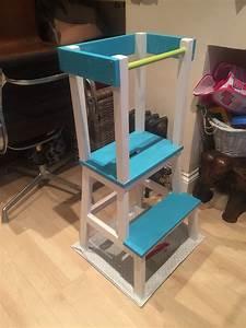 Ikea Learning Tower : learning tower ikea hack baby stuff diy pinterest lernturm kinderzimmer und spielideen ~ Orissabook.com Haus und Dekorationen