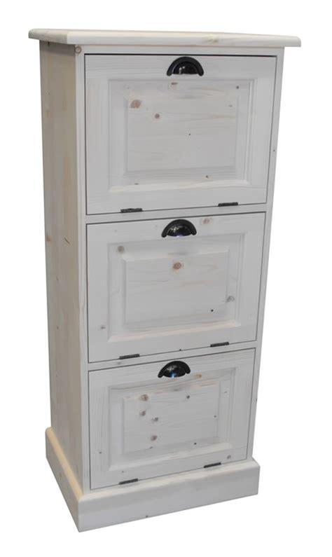 meuble classeur de bureau rangement de bureau en pin massif burrington