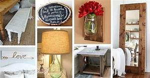 50, Diy, Rustic, Home, Decor, Ideas, You, Can, Make, Yourself