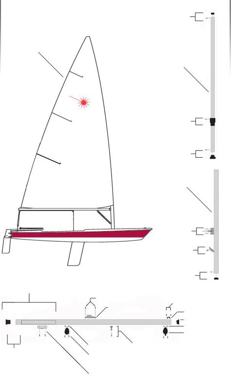 Parts Of A Laser Boat by 17 Best Images About Sailing On Rigs Tack And