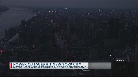 lights big city power outage experiences