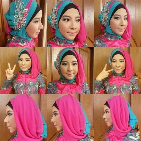 tutorial hijab wisuda terbaru   mudah  simpel