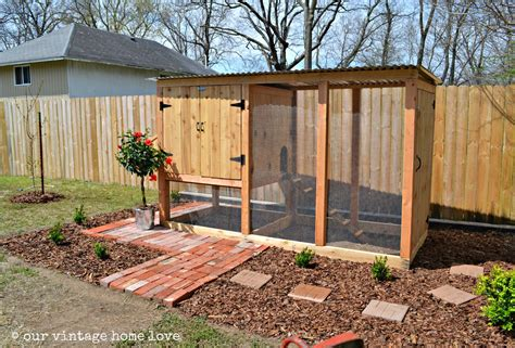 simple chicken coop vintage home love our new coop