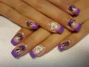 Multi colored nail designs