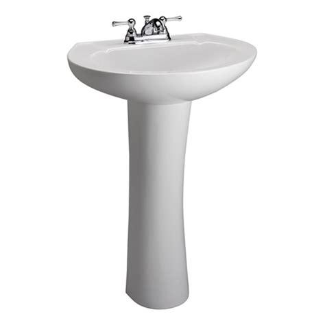 22 wide pedestal sink hshire white 4 inch spread pedestal sink barclay