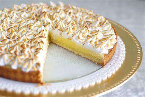 tarte citron meringuee pate feuilletee tarte au citron meringu 233 e recette special
