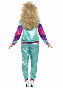 80er Jahre Kostüm Damen : 80er jahre jogging kost m f r damen kost me f r erwachsene und g nstige faschingskost me vegaoo ~ Frokenaadalensverden.com Haus und Dekorationen