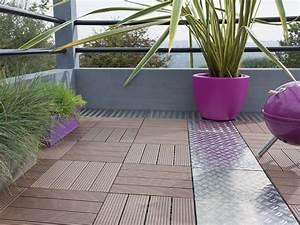 Caillebotis Pour Terrasse : sol terrasse ma terrasse ~ Premium-room.com Idées de Décoration