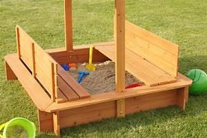 Sandkasten Mit Sitzbank : sandkasten mit sitzb nken und dach neu ebay ~ Frokenaadalensverden.com Haus und Dekorationen