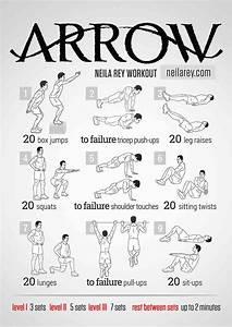 Arrow Workout  Bodyweight Routine