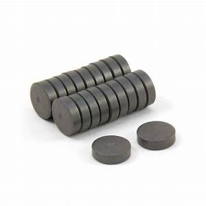 10mm dia x 3mm thick Y10 Ferrite Magnets | first4magnets.com