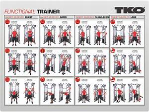 Commercial Functional Trainer Gym By Tko  9050