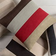 Red and Brown Throw Pillows