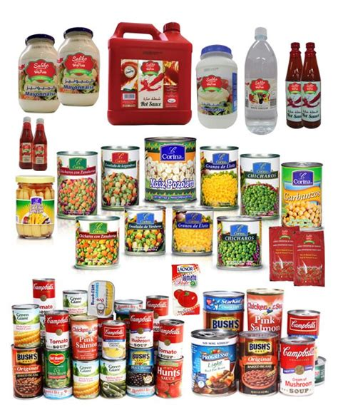 Buy Wholesale Canned Packaged Food Products