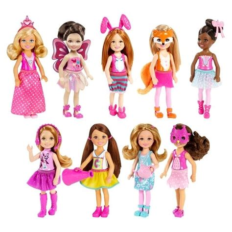 Barbie Chelsea & Friends Doll  Dress Up Theme  9 To