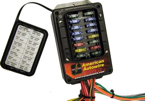 Car Fuse Box Nz by Aaw Universal Wiring