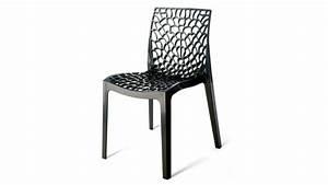 Chaise Exterieur Design : chaise design polypropyl ne int rieur ext rieur anthracite eva gdegdesign ~ Teatrodelosmanantiales.com Idées de Décoration