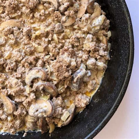 Casseroles, taco fillings, soups, and every take on meatloaf you can imagine. Low Carb Beef Stroganoff Bowl   EasyHealth Living