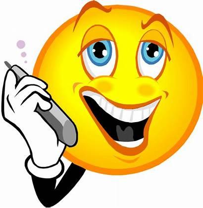 Smiley Call Face Emoticon Phone Emoticone Duration
