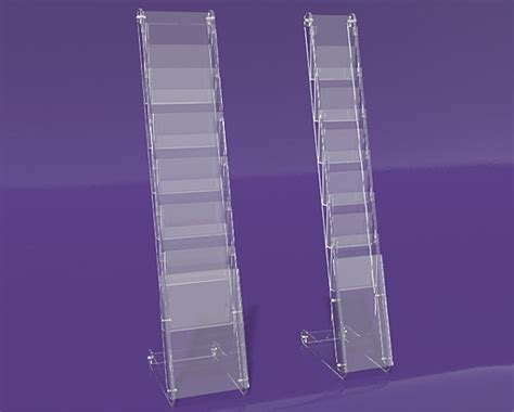Flat Pack Printed Media Display Stand Dkbh032p