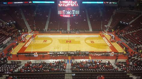 pinnacle bank arena section  nebraska basketball