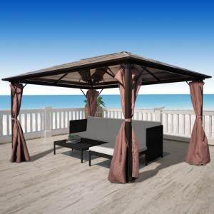 Gartenpavillon 3x4 Wetterfest : parasol tonnelle ~ Articles-book.com Haus und Dekorationen