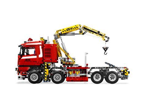 technic truck crane truck 8258 technic brick browse shop