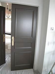Porte Interieur Grise : peindre porte interieure 2 couleurs 22 beau couleur porte ~ Mglfilm.com Idées de Décoration