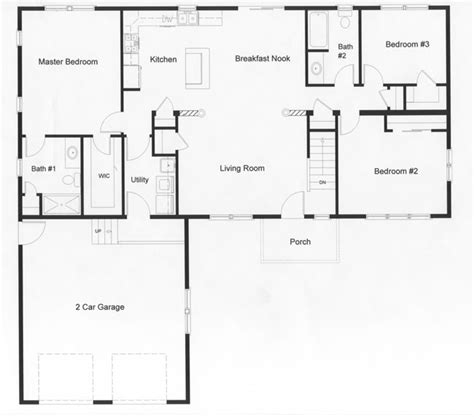 open floor plans ranch homes ranch kitchen layout best layout room