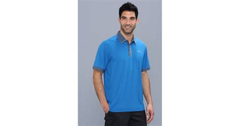 Nike Tiger Woods New Ultra Polo 20 in Military Blue (Blue ...