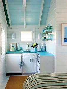 turquoise countertops cottage kitchen kathleen hay With what kind of paint to use on kitchen cabinets for turquoise bathroom wall art