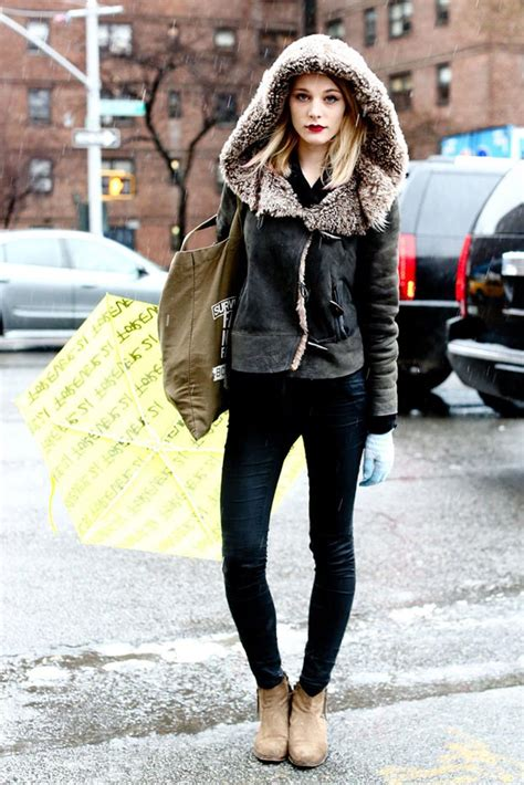 40 Models Winter Street Style Outfits For Inspiration! - StyleFrizz
