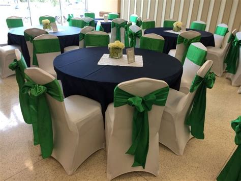 spandex chair covers linen rentals and navy blue on