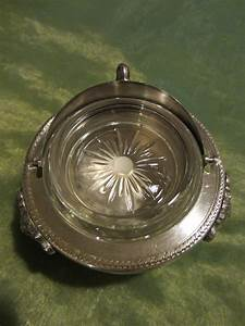 Silver Plated Lion Medallion Caviar Serving Bowl For Sale