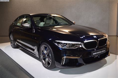2017 bmw m550d first pictures of the g30 with turbo diesel