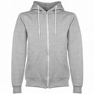 Mens Plain Hoodie Fleece Knit Zip Up Hoody Jacket Hooded
