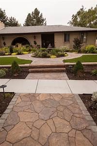 Backyard Design Utah Utah Pavers Flagstone And Brick Cottonwood Landscapes