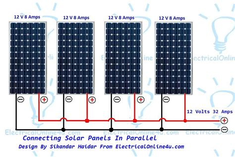 Wiring Solar Panels Parallel
