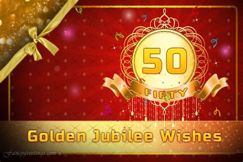 golden jubilee greeting card send  golden jubilee