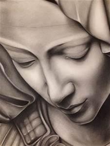 """Omaggio a Michelangelo - particolare de """"La pietà ..."""