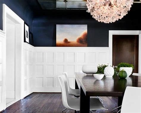 Modern Wainscoting Panels by I Really This The High Wainscoting Paint