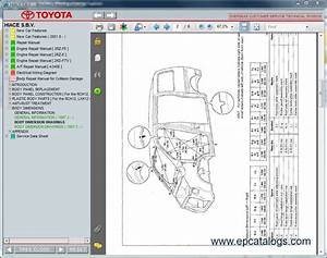 Toyota Hiace S B V   Repair Manual  Cars Repair Manuals
