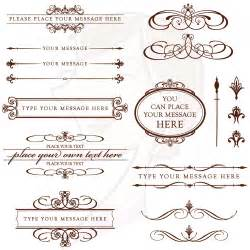 Vintage Wedding Invitation Clip Art