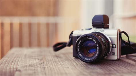 olympus camera   table wallpapers  images