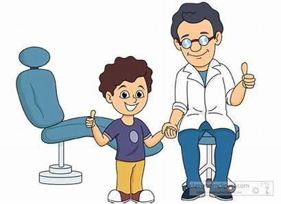 Dentist Clipart Dental Boy Happy Clip Exam