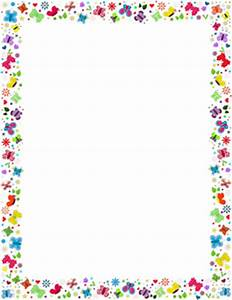 72+ Page Border Flowers Clipart