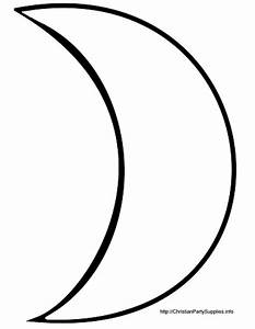 Moon Clipart Outline | Clipart Panda - Free Clipart Images