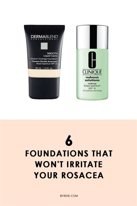 best for rosacea dermatologists say these foundations are rosacea approved
