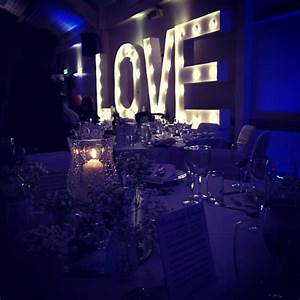 winter wedding vowed amazed light up large love marquee With large light up letters for wedding