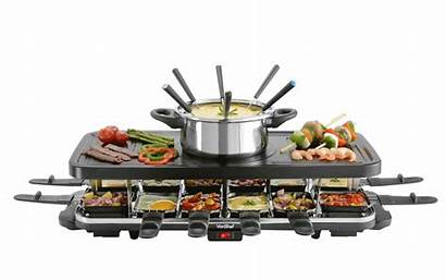 Grill Raclette Vonshef Person Cooking Kitchen Cook
